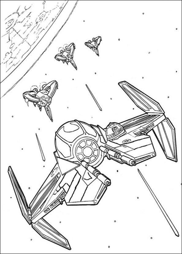 Star Wars Raumschiffe 8