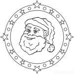 Weihnachten Mandala 1