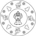 Weihnachten Mandala 2