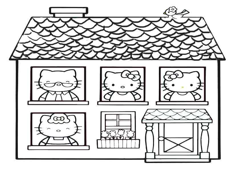 Das Haus von Hello Kitty