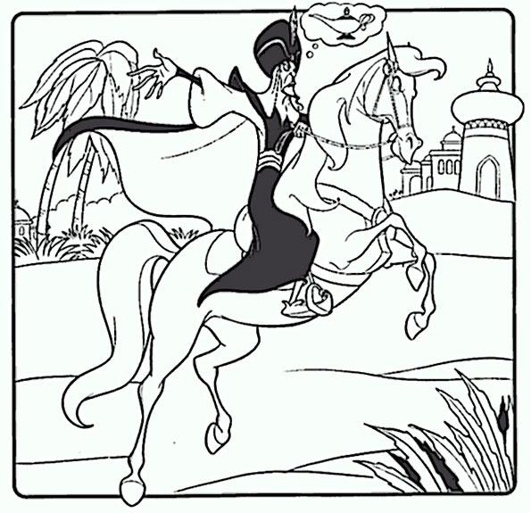 malvorlagen pferde 1