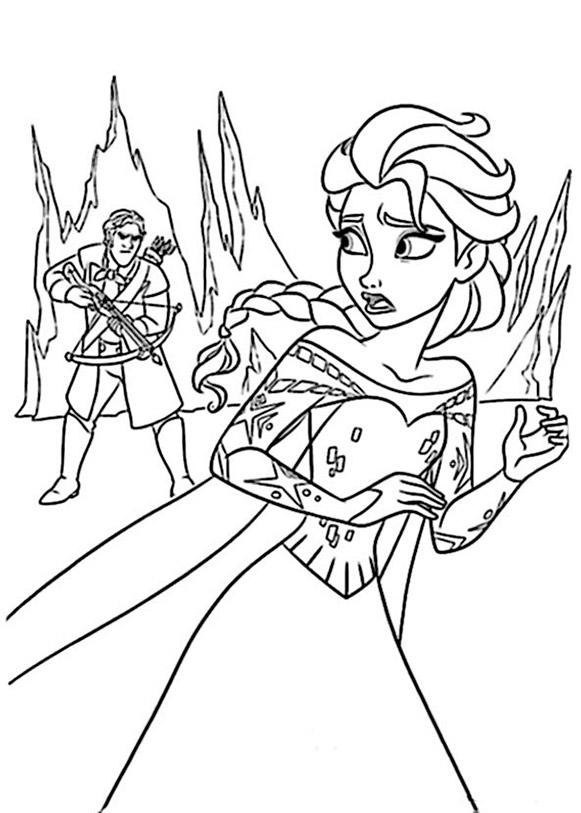 ausmalbilder Eiskönigin 7