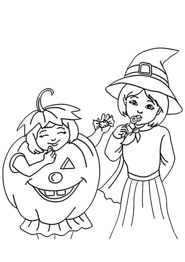 Ausmalbilder Halloween 5